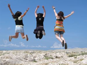 youth jumping